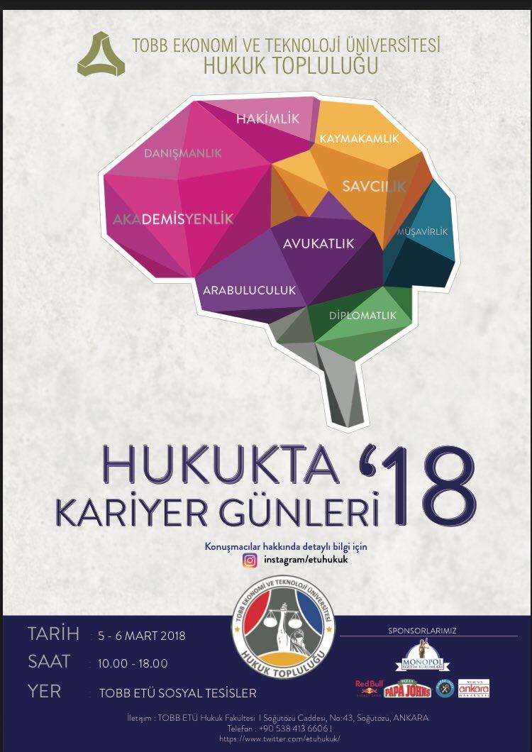DWpqwdhXcAE1AO3 - Av. Prof. Dr. Vahit BIÇAK, Hukukta Kariyer Günleri'18 Etkinliğine Katılacak