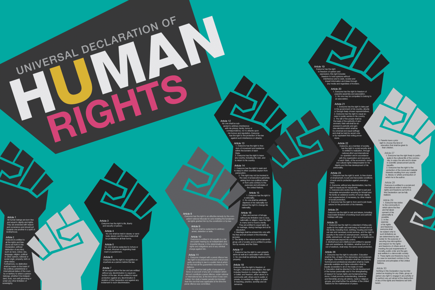 humanrightsposter8copy - The Decline of the Right to Silence: Recent Developments in England