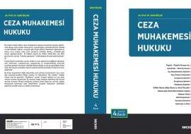 """ceza muhakemesi hukuku 4 baski 270x190 - Av. Prof. Dr. Vahit Bıçak'a ait """"Ceza Muhakemesi Hukuku"""" kitabının 4. baskısı çıktı."""